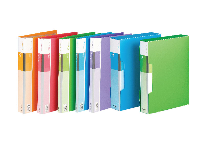 FASCIKLA DELI DISPLAY - CLEAR BOOK NEON 80 lista
