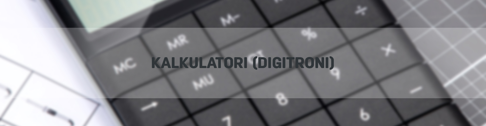 Kalkulatori (digitroni)