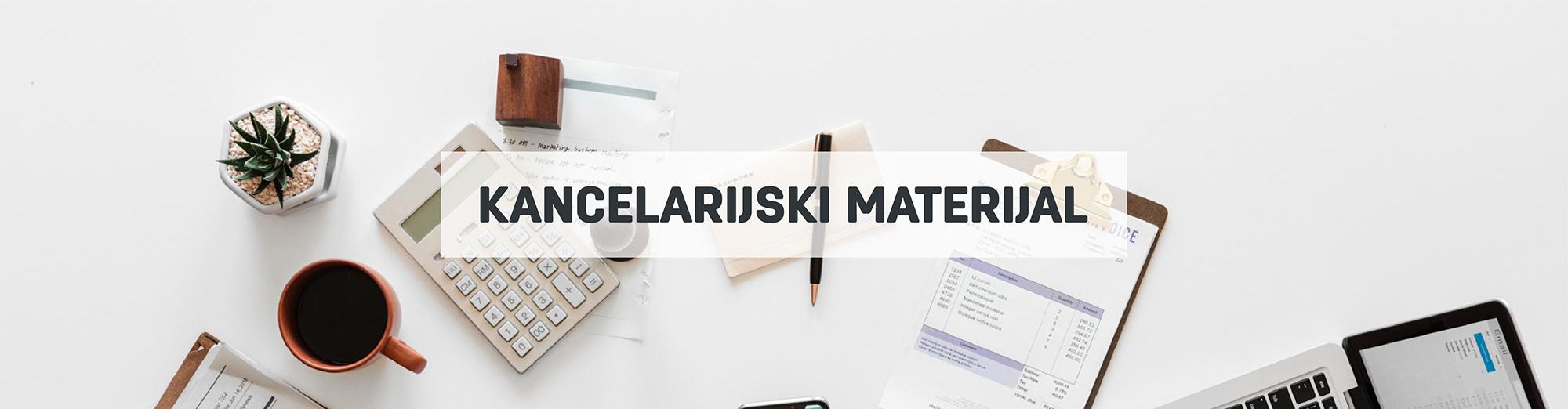 Kancelarijski materijal, pribor i oprema