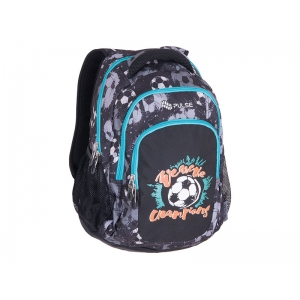 RANAC PULSE TEENS BLACK FOOTBALL