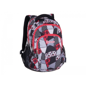 RANAC PULSE TEENS RED PATCH